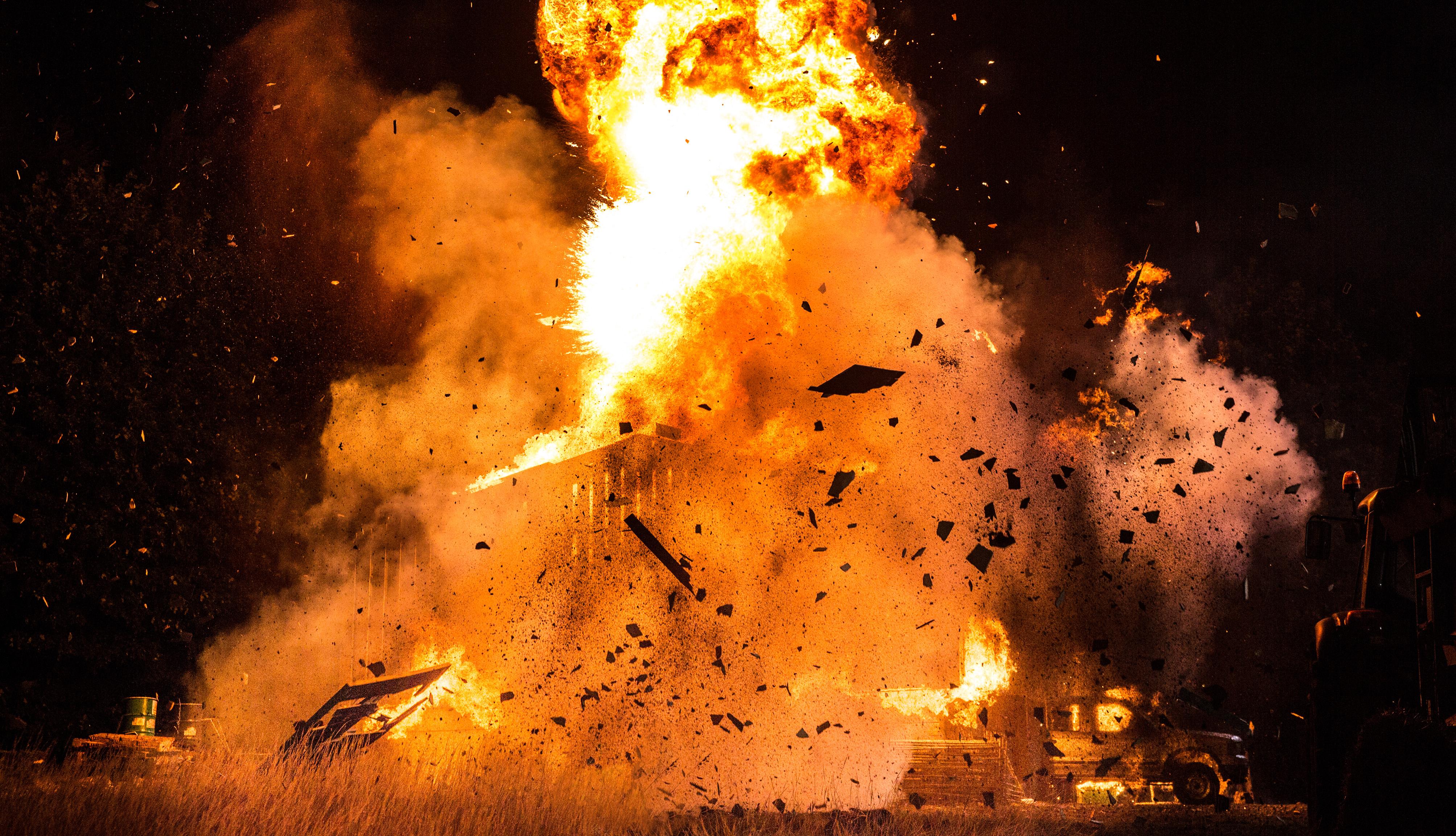 Emmerdale barn explosion