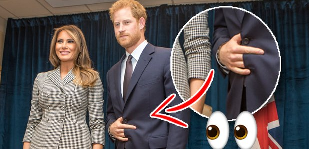 The Meanings Behind Prince Harry's Secret Hand Signal Has Everyone