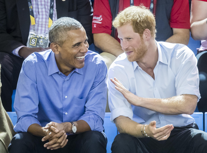 Barack Obama/Prince Harry