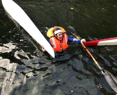 Gemma fell out kayak