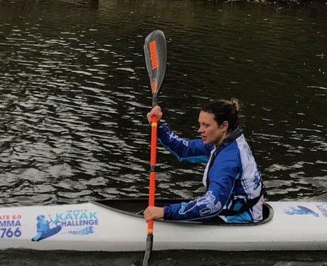 Gemma kayaking angry