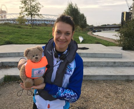 Gemma with the CHECT Bear