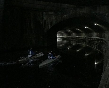 They're in the Curzon street tunnel