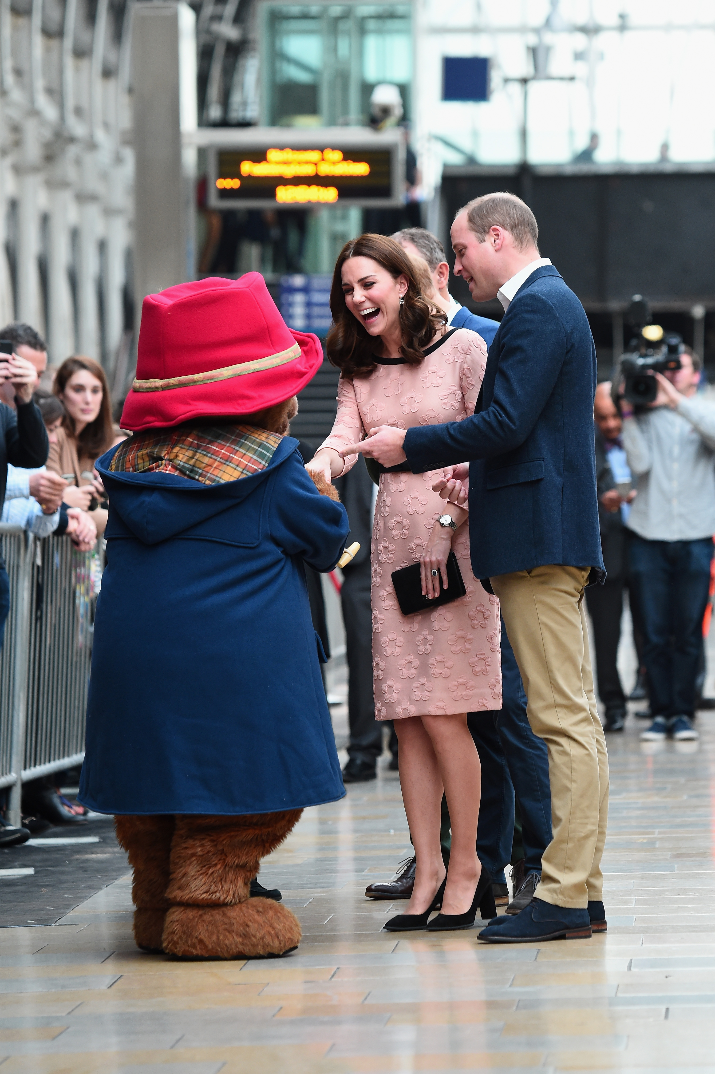 Duchess of Cambridge Kate with Prince William