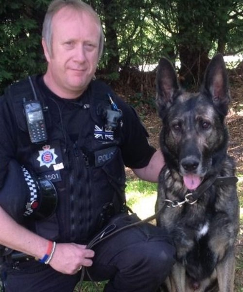 PC Mick Finch and PD Cody