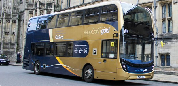 DRIVER: STAGECOACH BUS