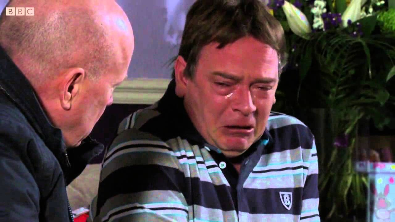 Crying Ian Beale