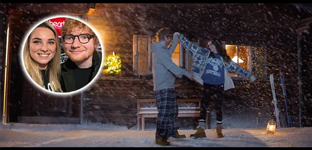 Ed sheeran drops music video to perfect and its so christmassy stopboris Images