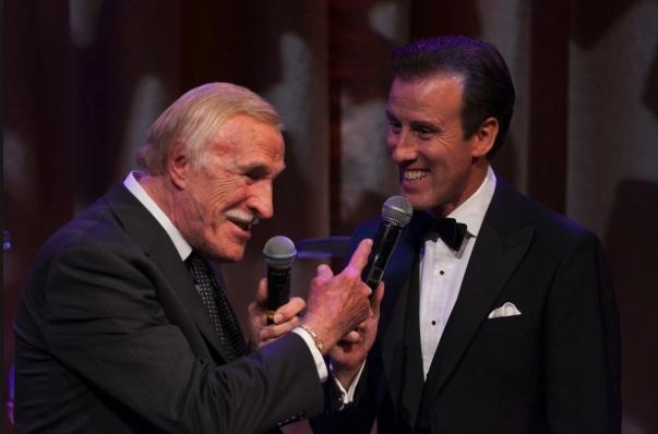 Sir Bruce Forsythe and Anton Du Beke