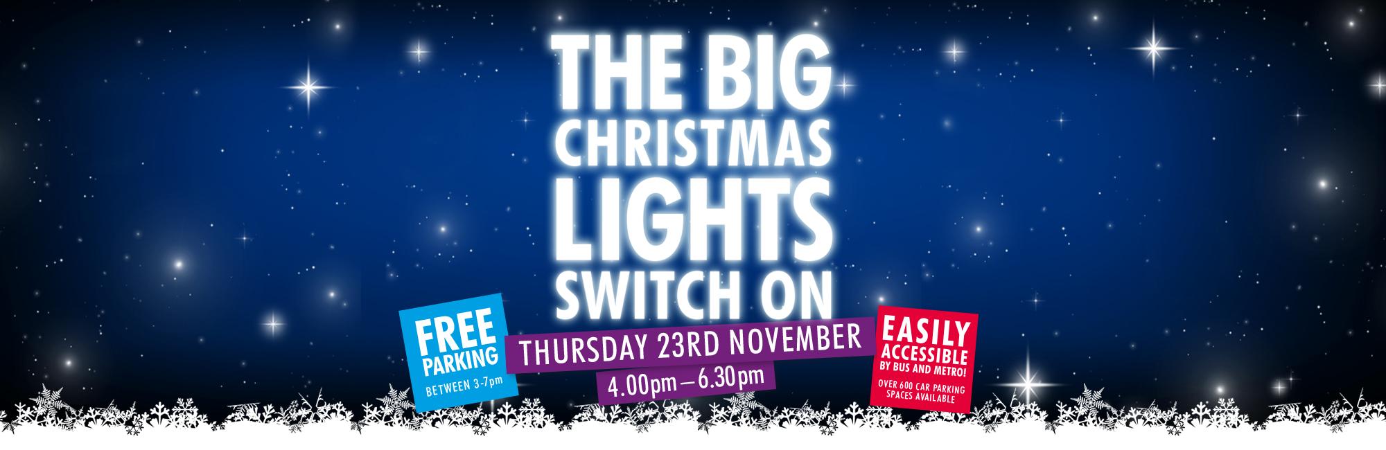 Trinity Square Big Light Switch On