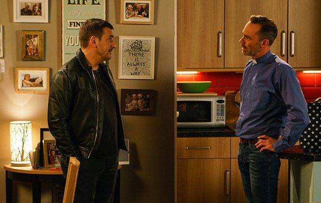 Peter and Billy, Coronation Street