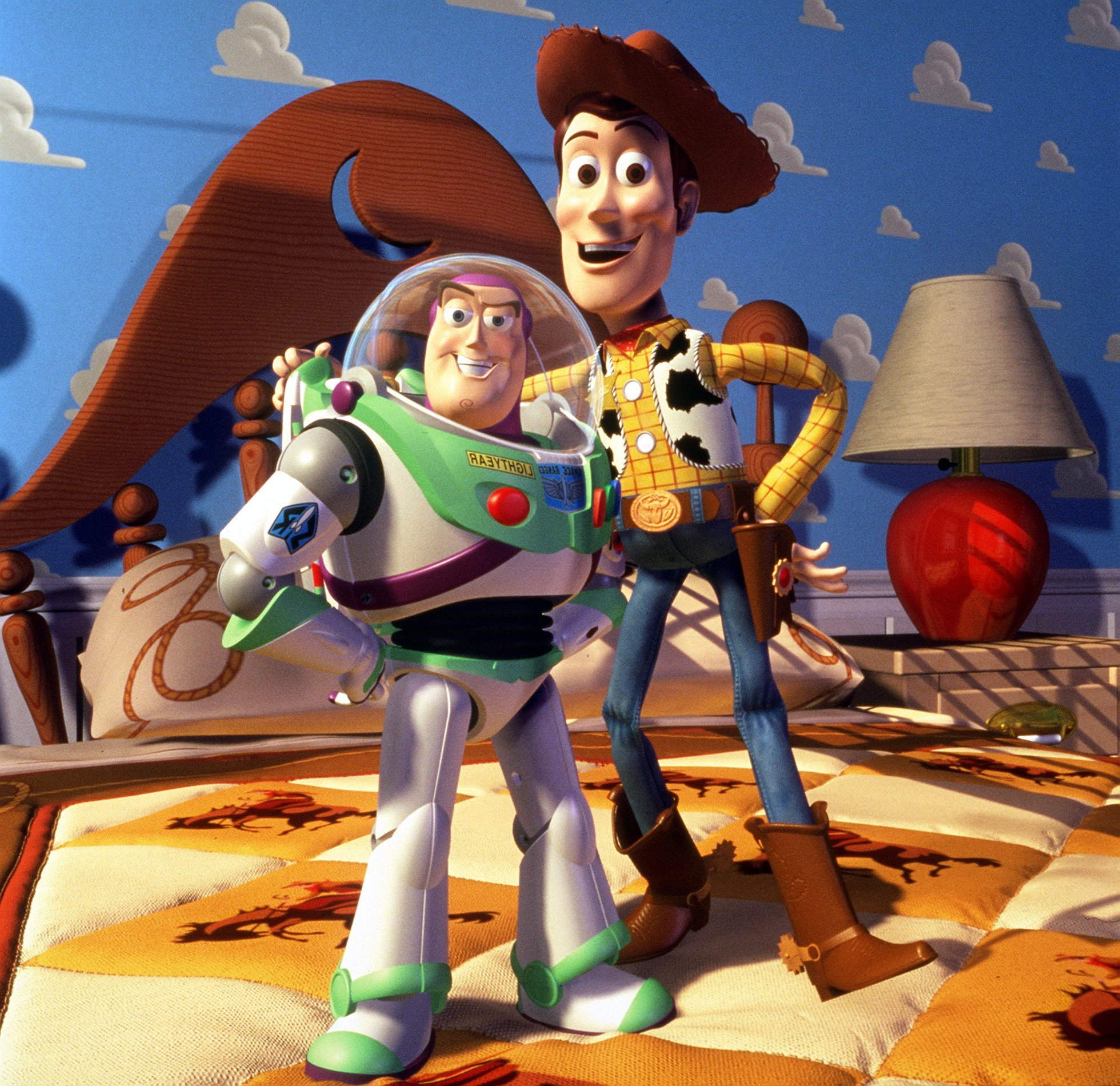 Woody and Buzz, Toy Story