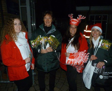 Christmas Light Switch On at Freeport Braintree