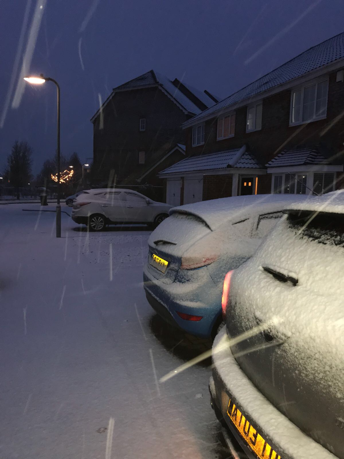 Snow in Basingstoke