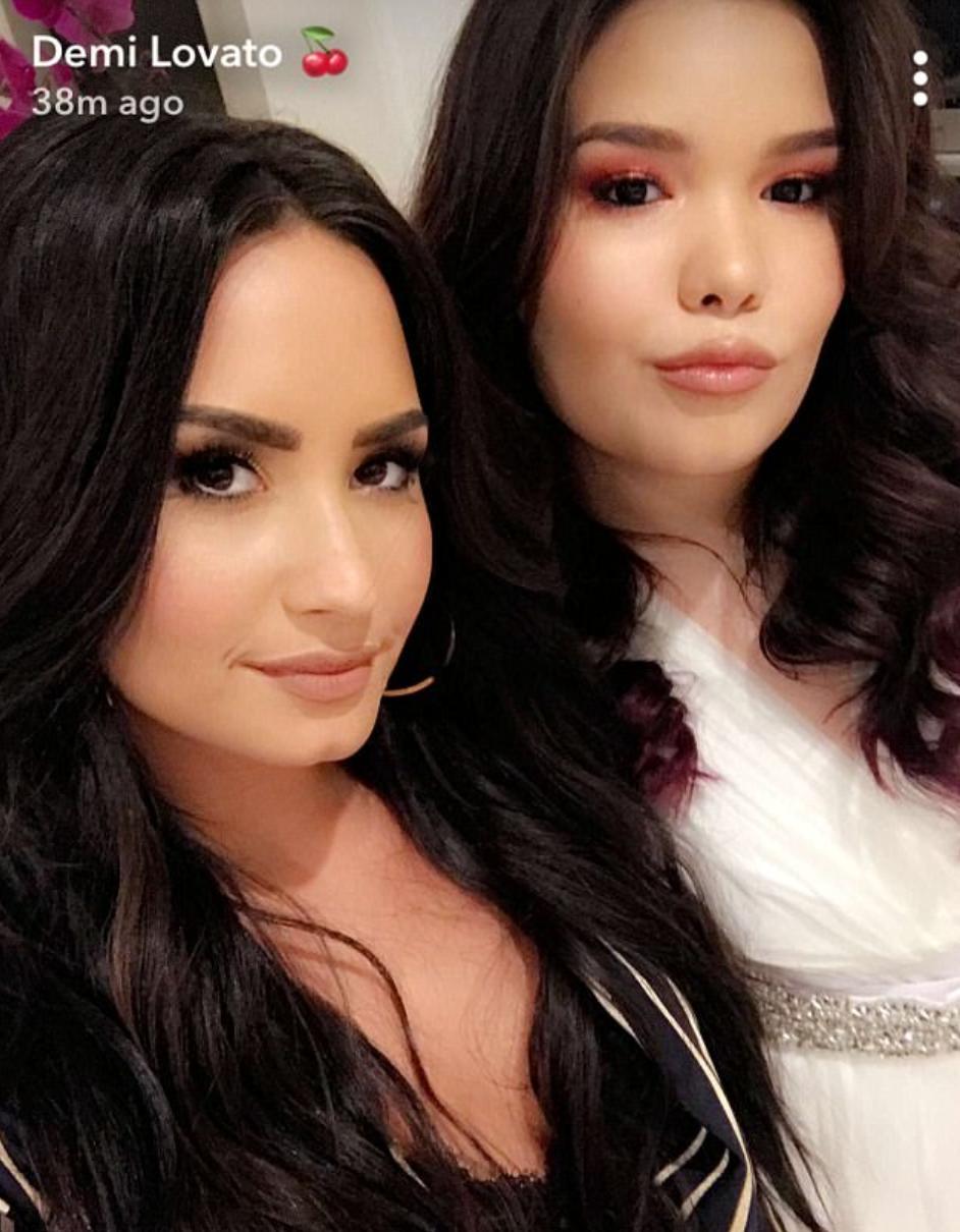 Demi Lovato and sister Madison De La Garza