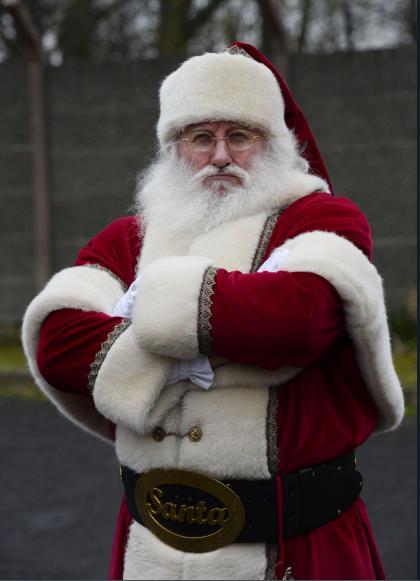 Santa Claus Gets Chicken pox