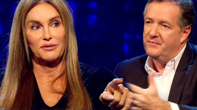 Piers Morgan Riles Caitlyn Jenner As She Opens Up About