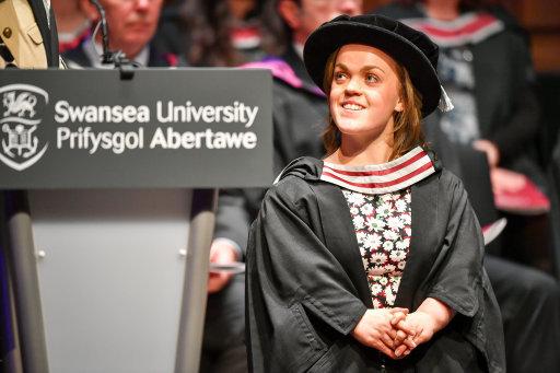 Ellie Simmonds Honorary Degree