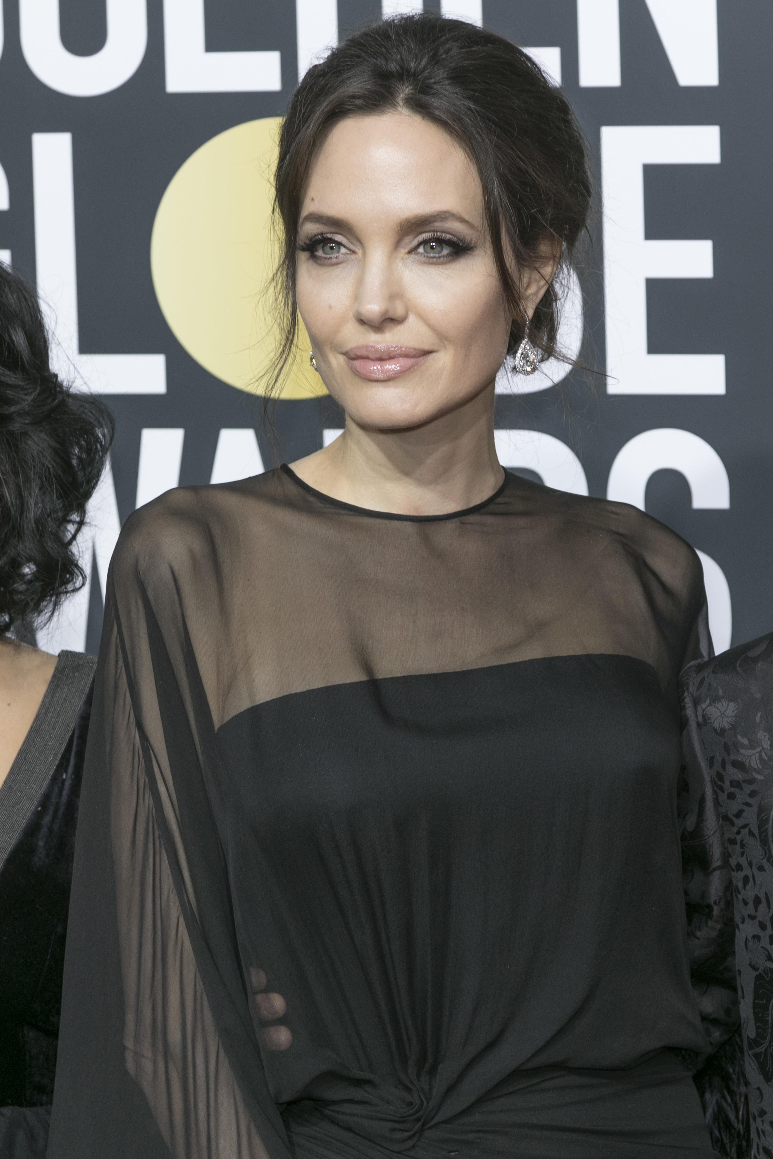Golden Globes Black Dresses