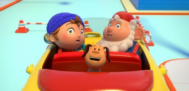 dad spots something seriously wrong with this noddy episode