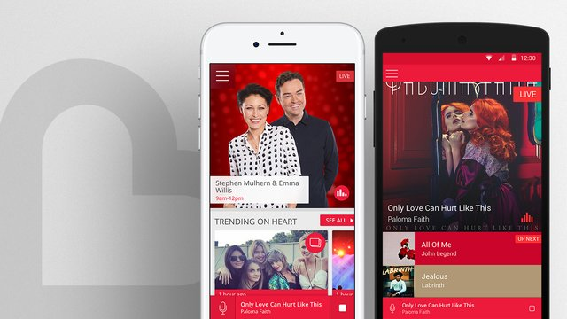 Download the brand new Heart app for extra features! - Heart