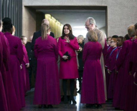 Prince William and Kate - Coventry Jan 18