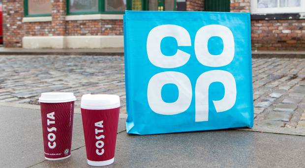 Co-op and Costa Corrie
