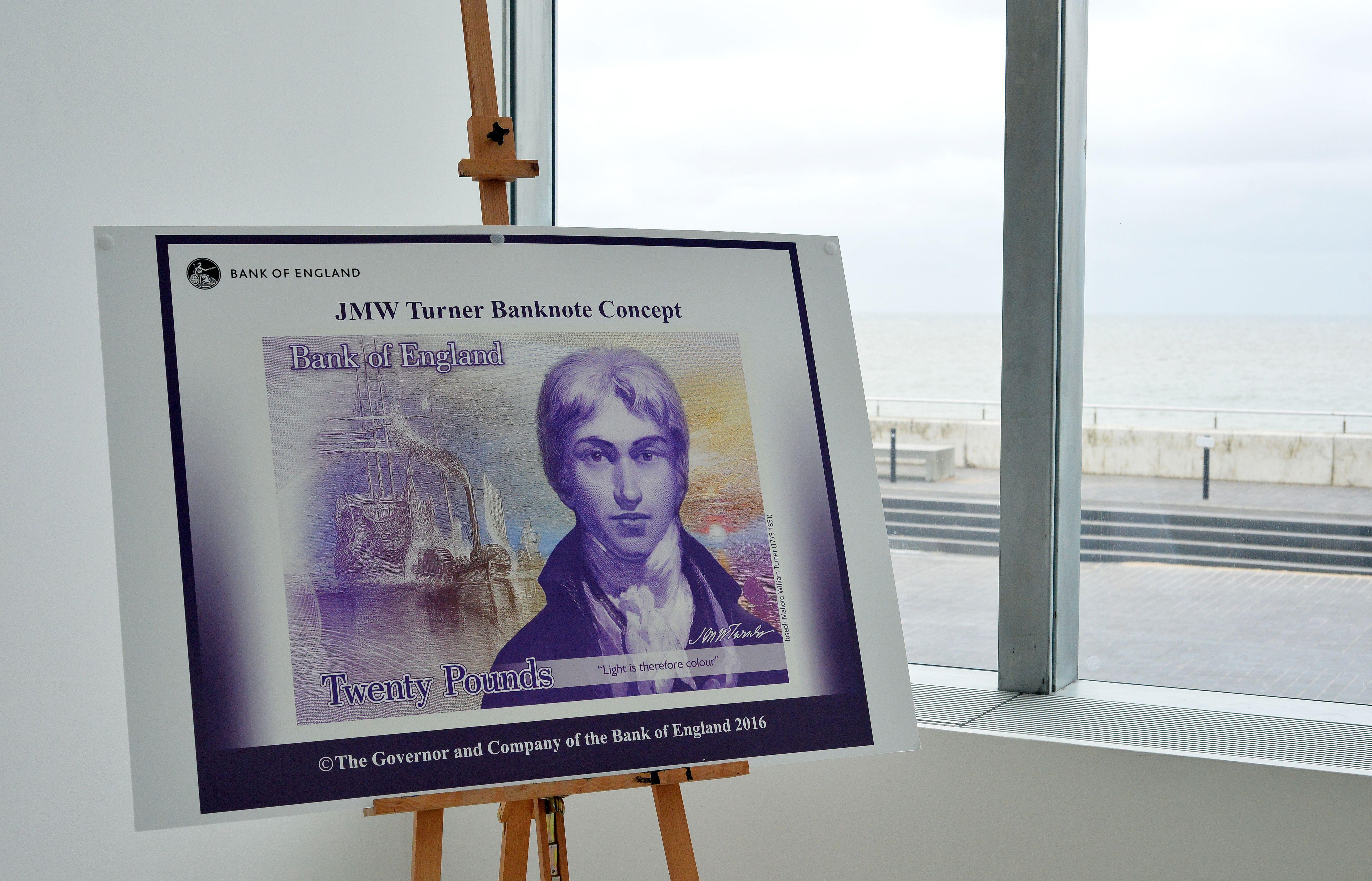 JMW Turner £20 note