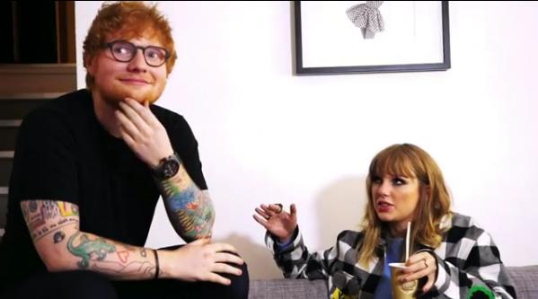 Ed Sheeran reveals how taylor swift helped him fin