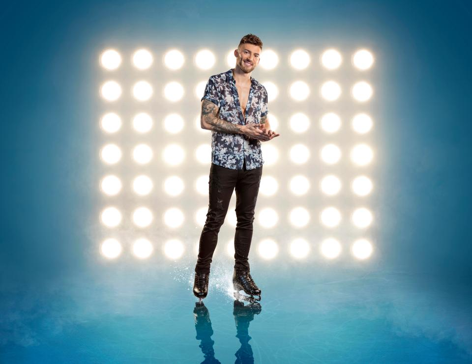 Jake Quickenden Dancing On Ice 2