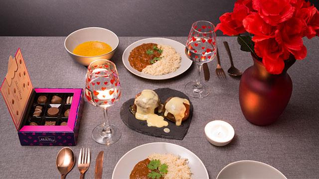 Poundland Valentine's Meal