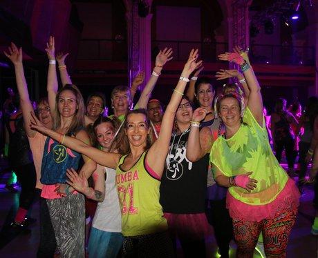 Zumber Glitter & Glow Party 2017