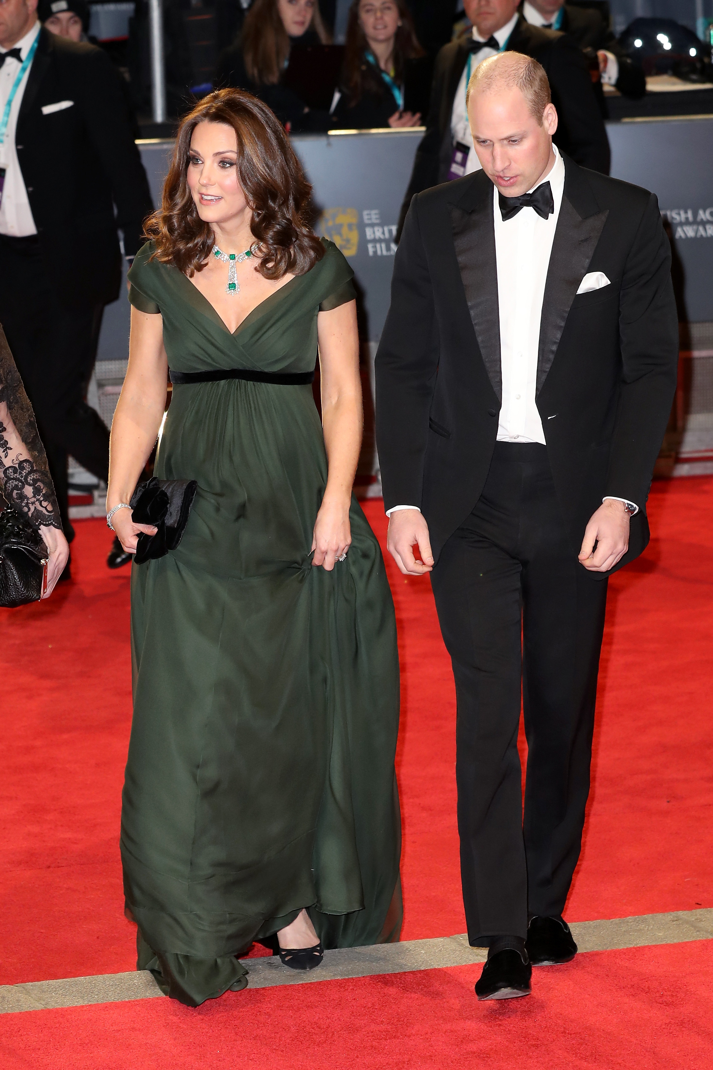 Kate middleton and prince william BAFTAs