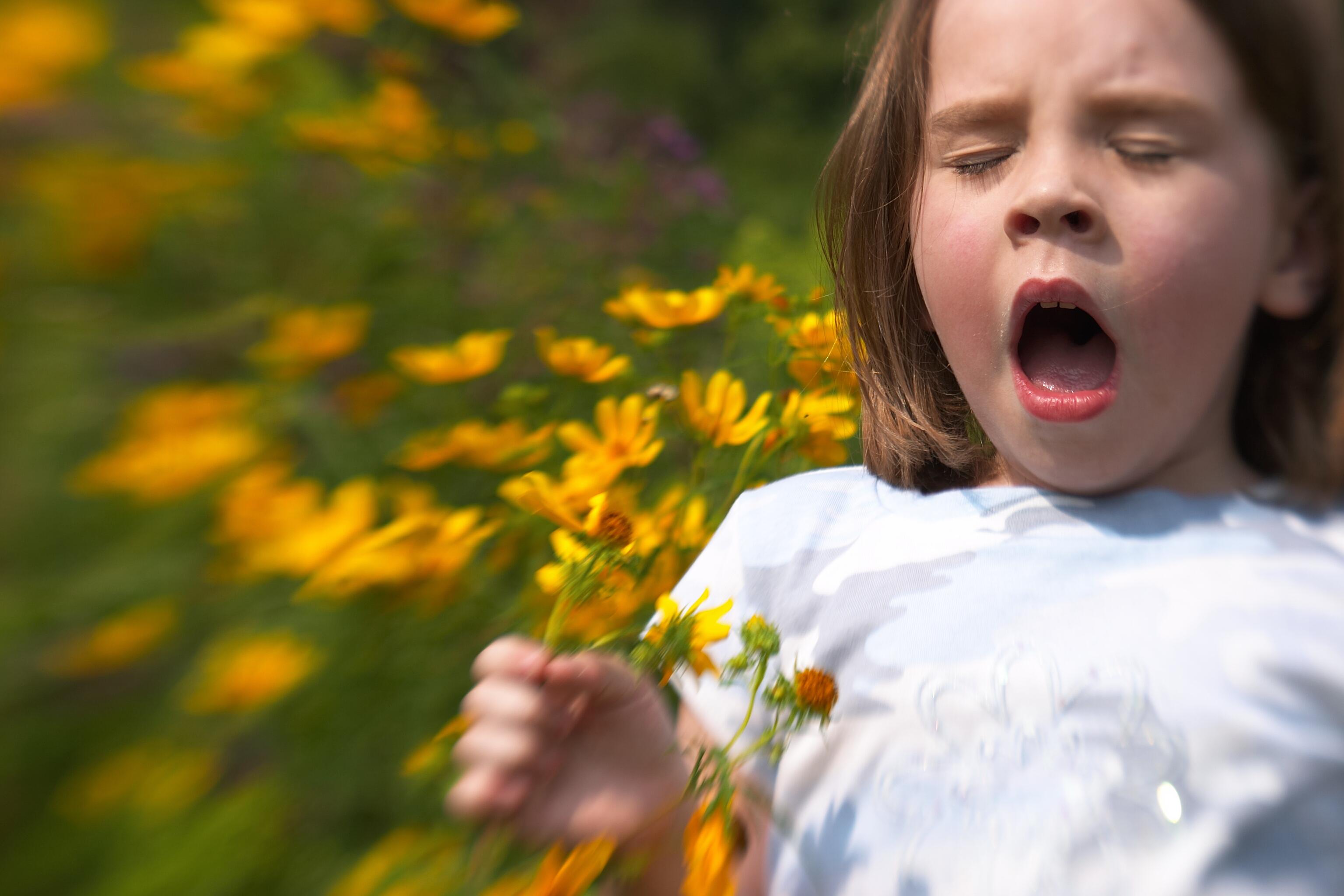 Kid Sneezing