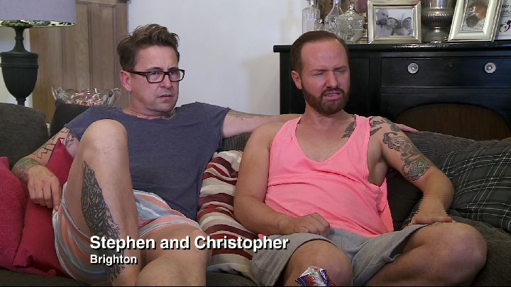 Chris and Stephen Gogglebox