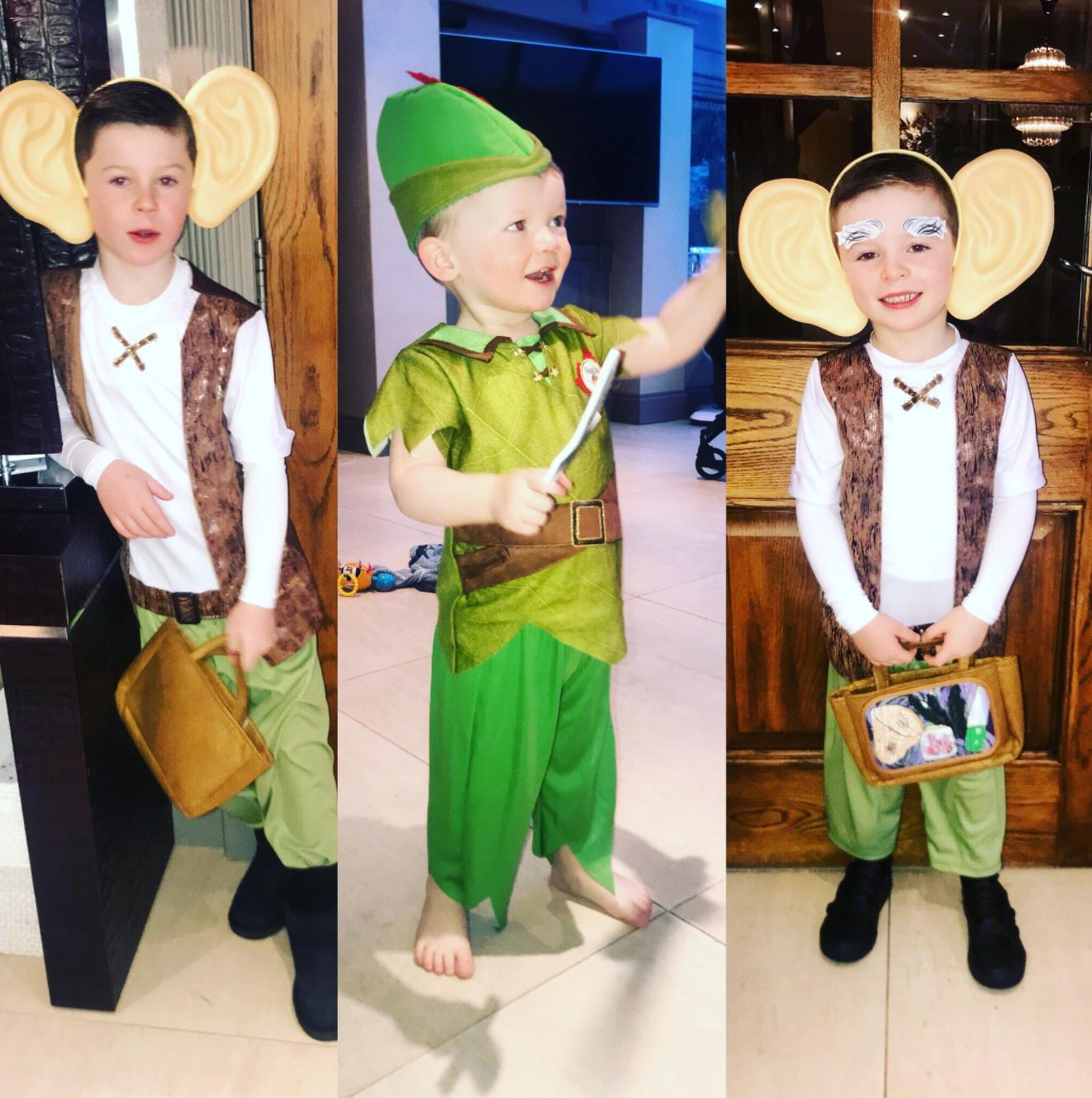 Coleen Rooney kids world book day