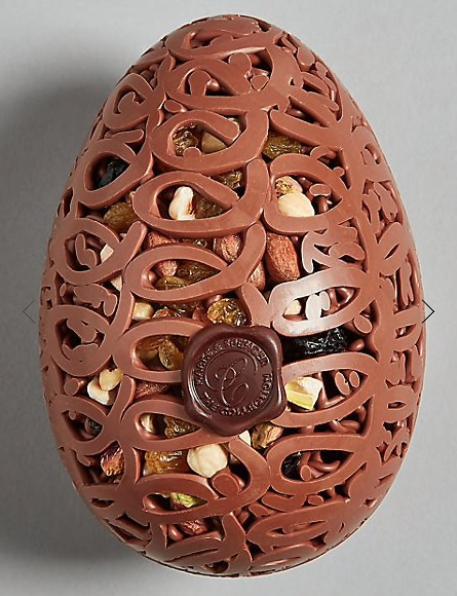 Fruit and nut lattice egg