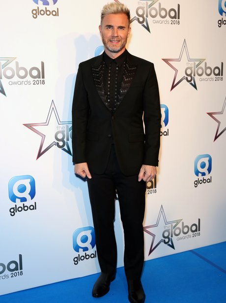 Gary Barlow Global Awards 2018 backstage