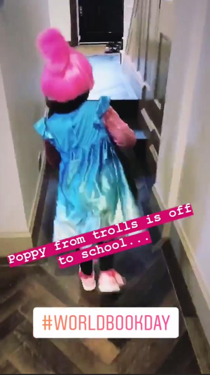 Rochelle Humes daughter World Book Day