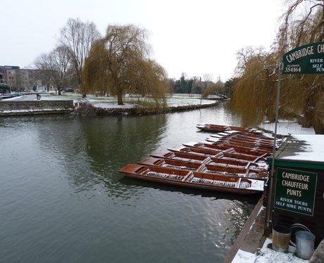 Snow Pictures - Heart Cambridgeshire