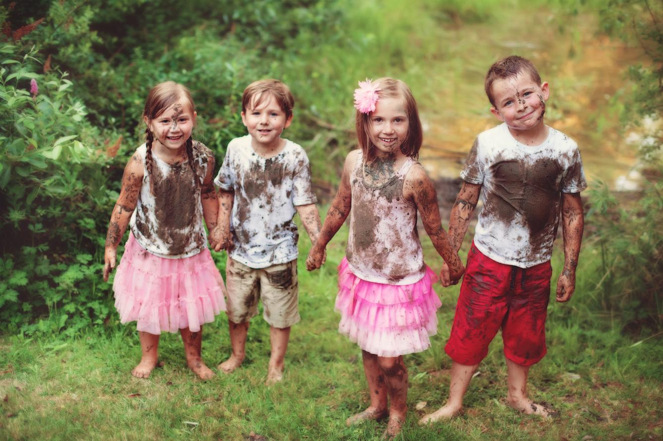 Muddy children