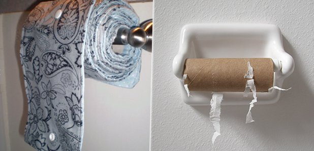 Toilet Paper Is Being Ditched And Replaced By A Reusable 'Family Cloth' Delectable Bathroom Paper