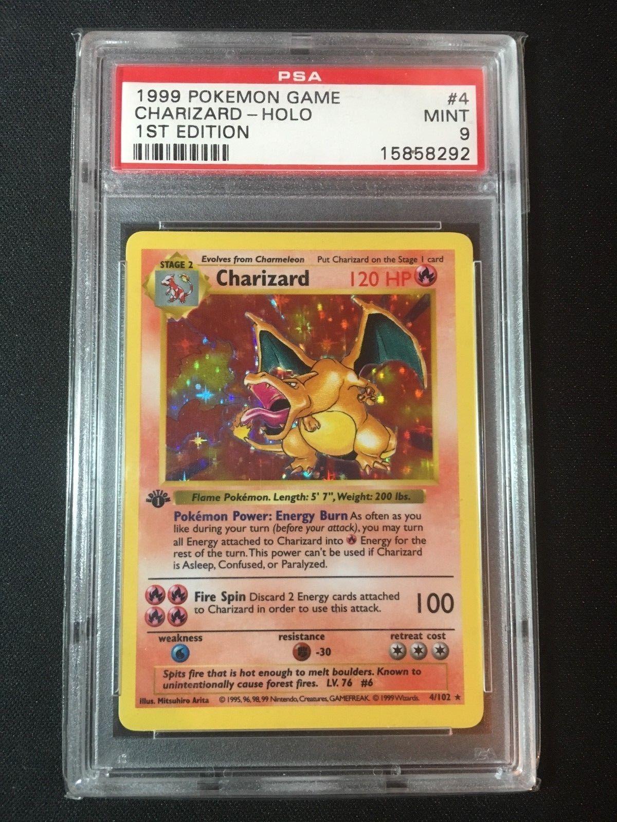 Charizard Pokemon Cards