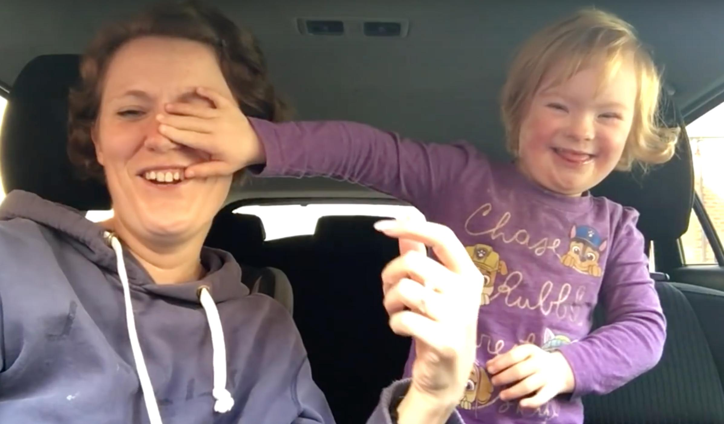 Gloucestershire viral Down syndrome Video