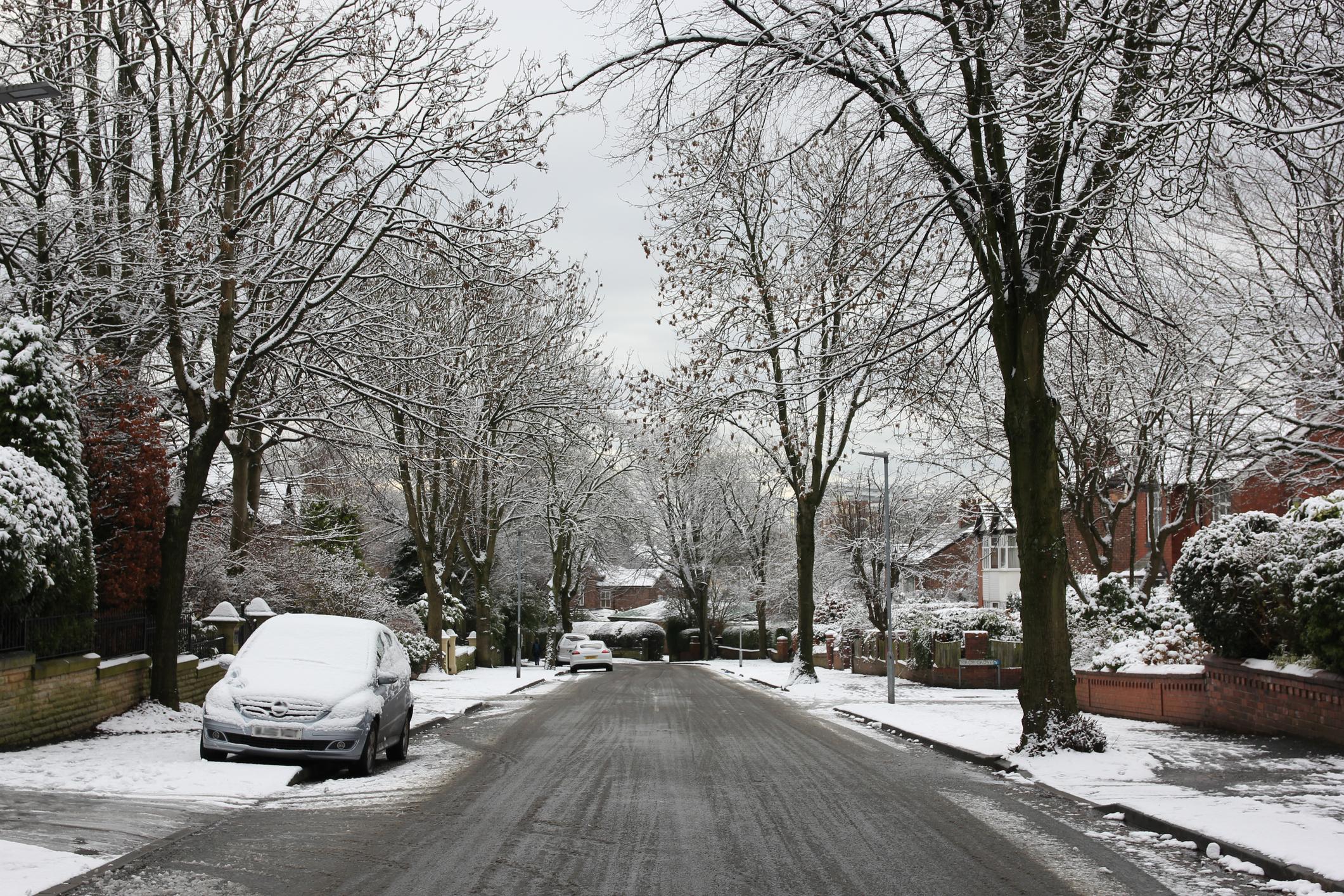 snow, ice, weather