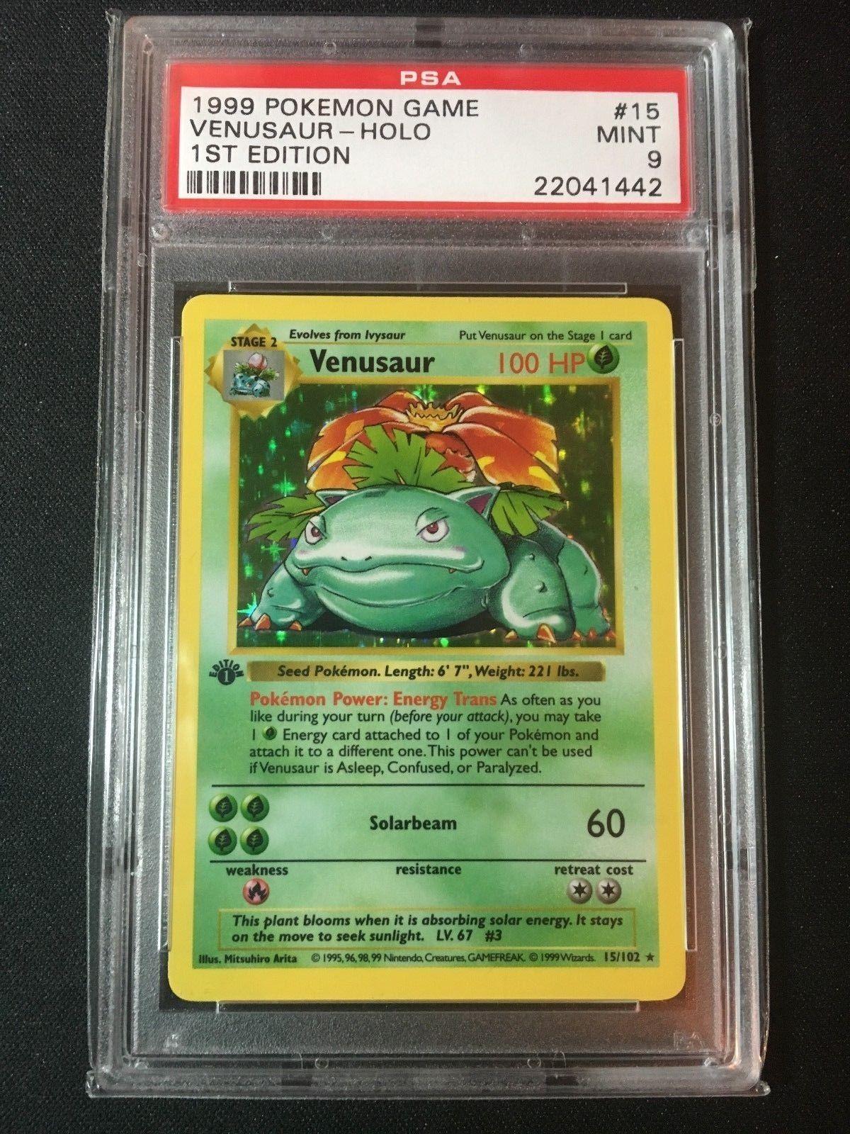 Venusarus - Pokemon card