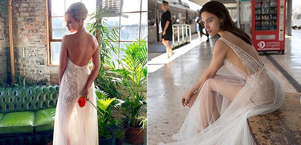 Naked Wedding Dresses Are The New Bridal Trend For 2018