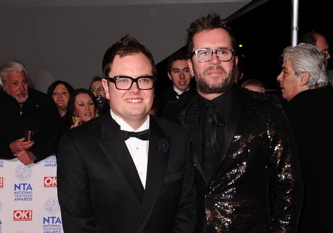 08d48bbad1c Alan Carr reveals Adele got ORDAINED so she could marry him