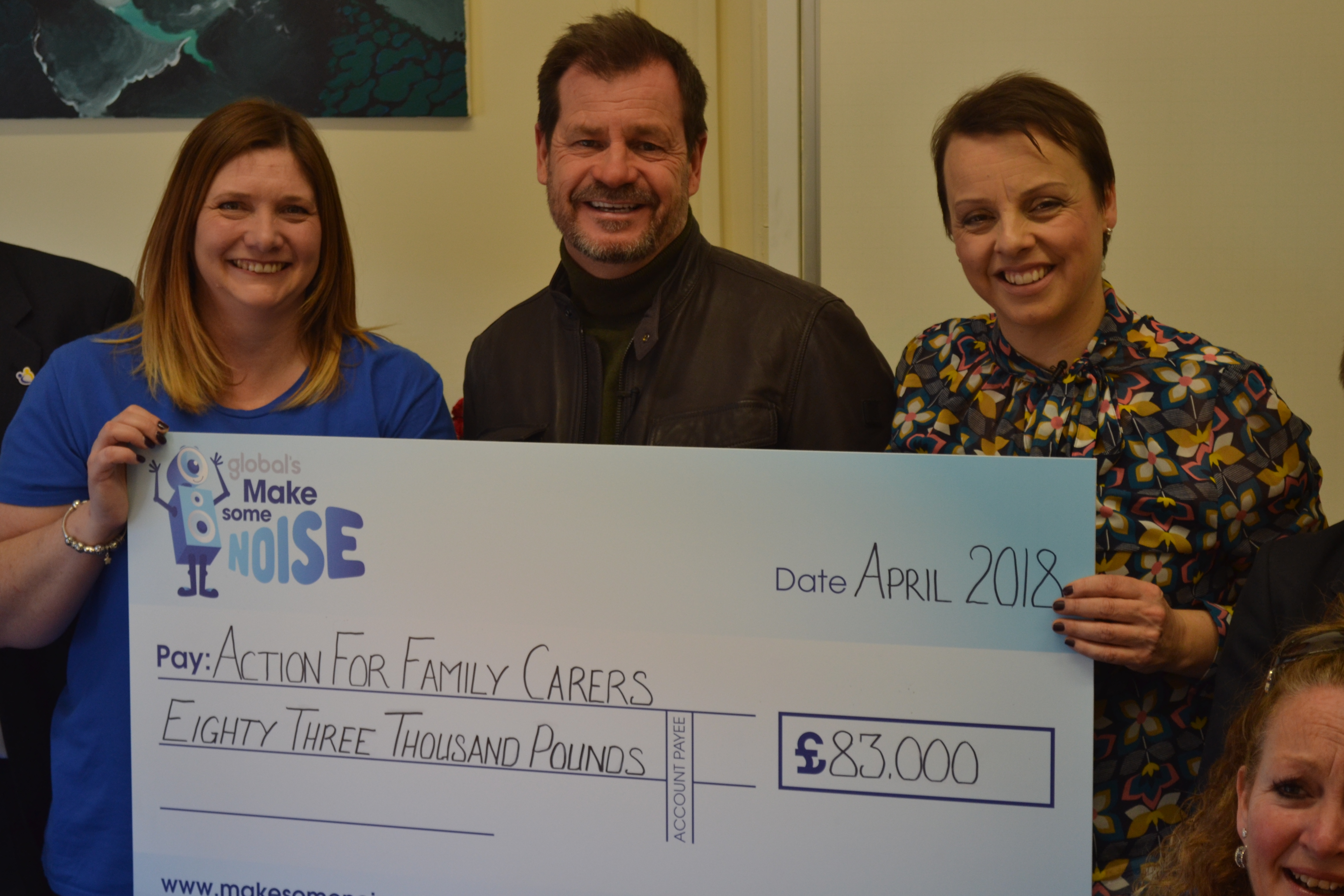 Action For Family Carers Receive A Cheque