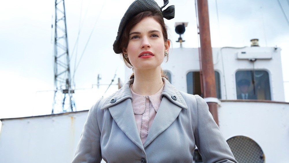 Lily James Guernsey